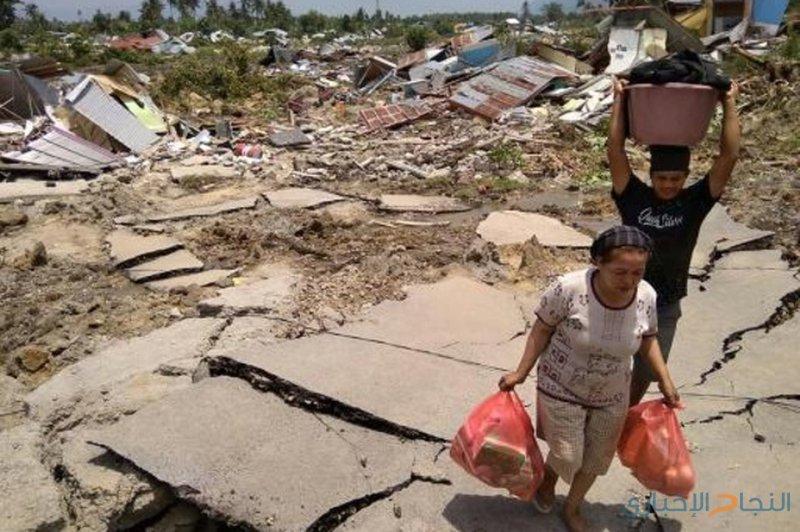 ارتفاع حصيلة ضحايا الزلزال والتسونامي