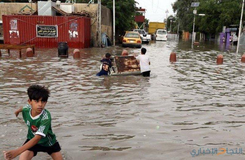 ارتفاع عدد ضحايا السيول في العراق إلى 16 قتيلا
