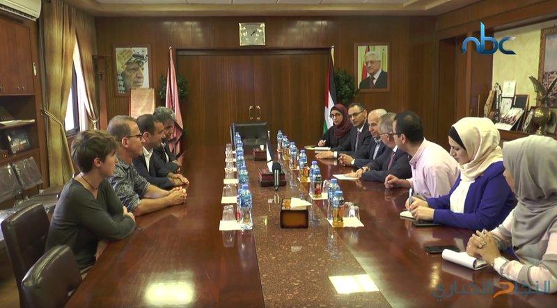جامعة النجاح تبحث أفق التعاون بين فلسطين وفرنسا