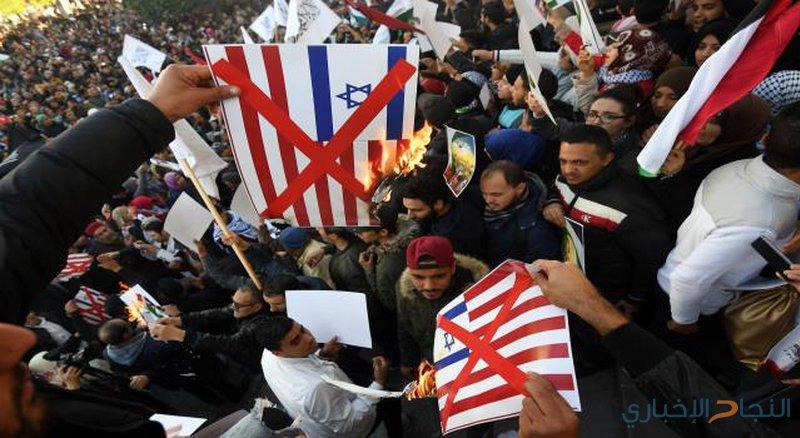 وقفة أمام سفارة بريطانيا بتونس بذكرى وعد بلفور