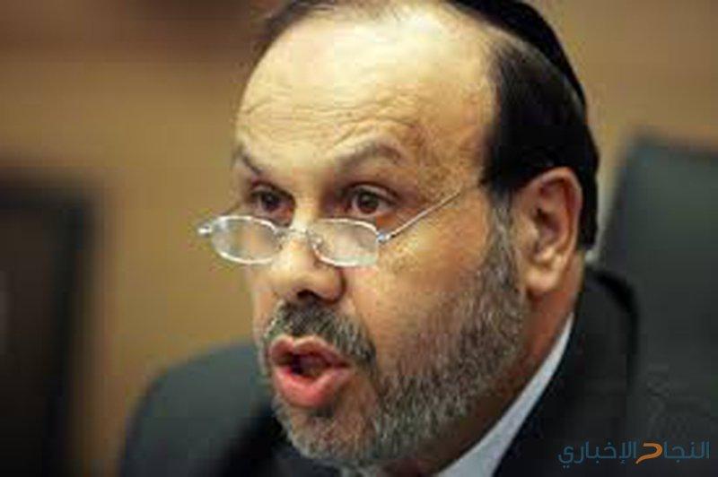 وفاة وزير الشؤون الدينية الإسرائيلي