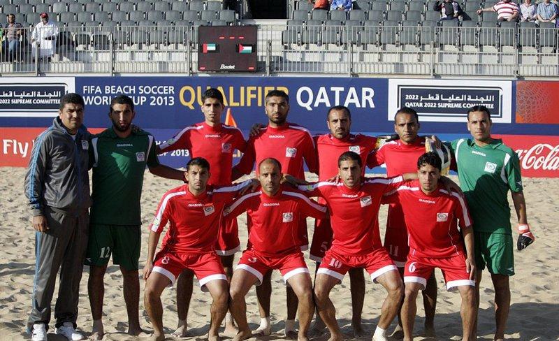 منتخب فلسطين للكرة الشاطئية يكتسح تايلاند بخماسية في بطولة آسيا