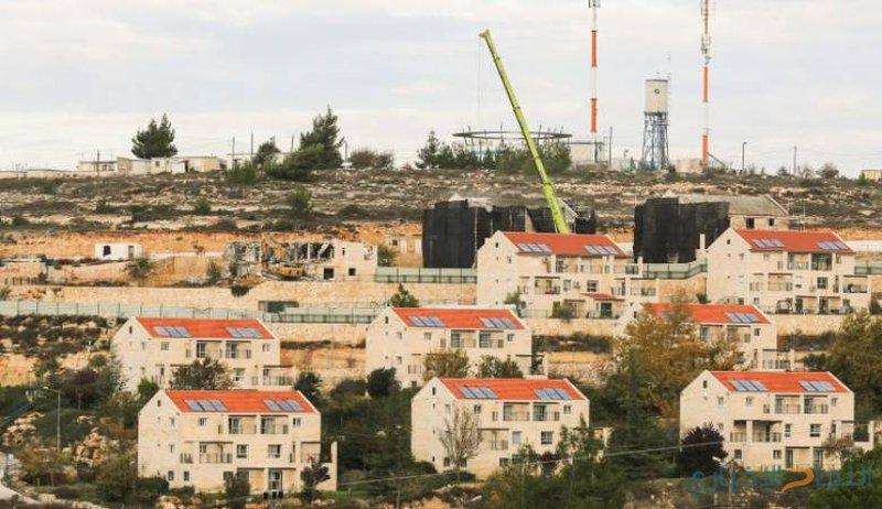 وضع حجر الاساس لبناء مستوطنة قرب رام الله