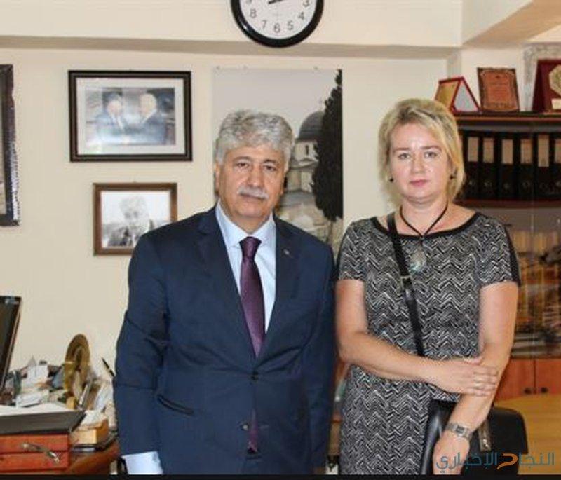 مجدلاني يبحث مع سفيرة بولندا المستجدات السياسية