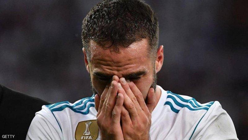 """كارفاخال يغالب الدموع.. ويصف موسم ريال مدريد بـ""""كلمة فاحشة"""""""