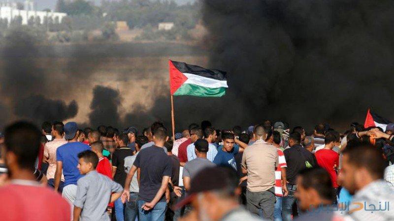 خمسة شهداء وعشرات الإصابات بجمعة غزة صامدةولن تركع
