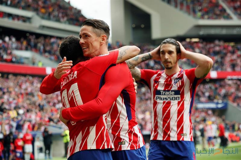 فوز سهل لأتليتيكو مدريد على ليفانتي
