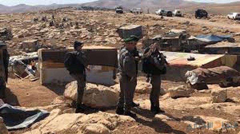 الاحتلال يعرقل دخول الحسيني لقرية الخان الأحمر