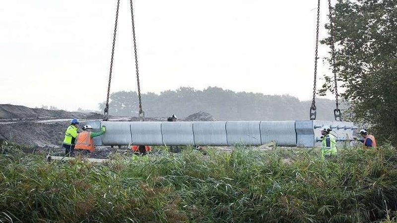 طباعة أطول جسر من الخرسانة بطابعة ثلاثية الأبعاد