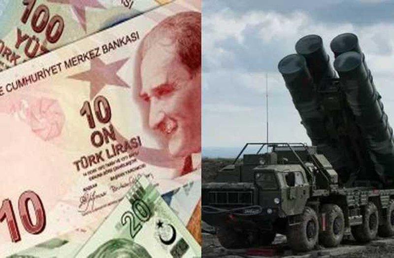 الصواريخ الروسية تهبط بالليرة التركية