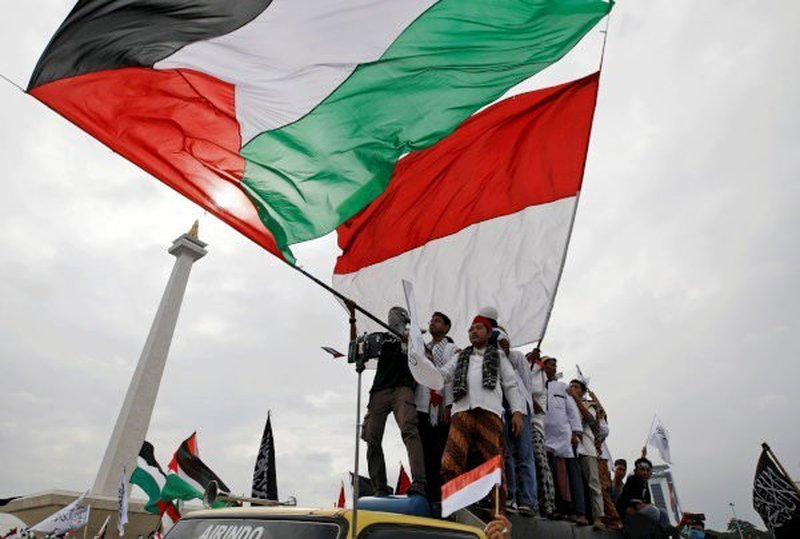 شامية يوقع خطاب نوايا حول الدعم الاندونيسي لفلسطين