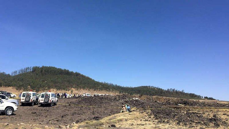 بينهم عرب.. الكشف عن جنسيات قتلى الطائرة الأثيوبية المنكوبة