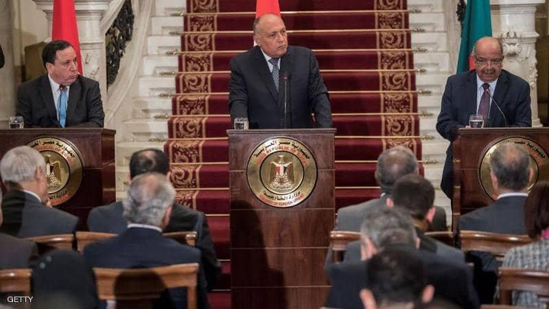 تنسيق مصري تونسي جزائري بشأن ليبيا
