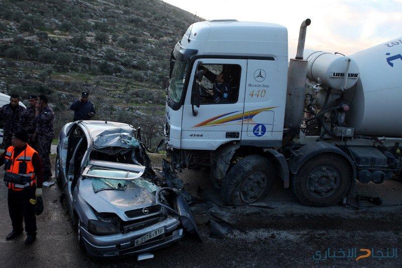 3 إصابات بحادثي سير منفصلين في الخليل