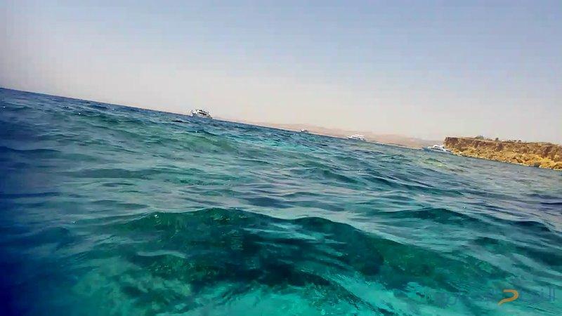 سحبها في مياه شرم الشيخ لتخشى الغرق.. وقام بفعلته
