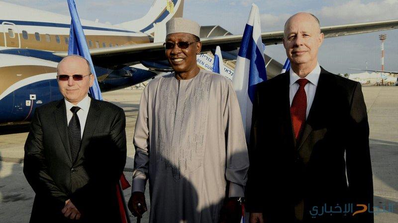 """للمرة الأولى .. رئيس """"تشاد"""" يصل إلى دولة الاحتلال"""