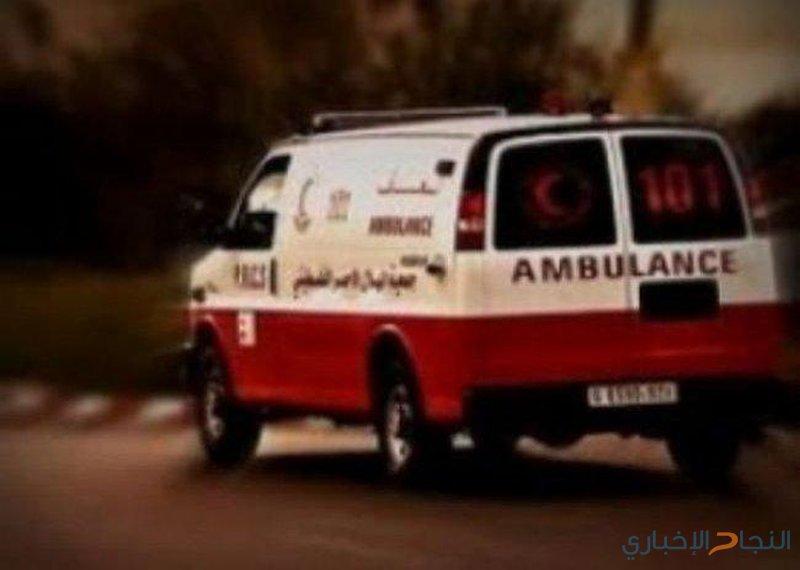 اصابة 5 مواطنين بحادث سير شمال الخليل