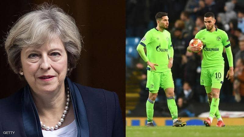"""في تغريدة """"طريفة"""".. شالكة يسخر من رئيسة وزراء بريطانيا"""