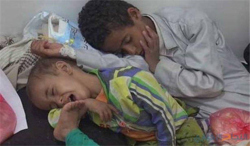 الصحة العالمية: (100) الف مصاب بالكوليرا في اليمن