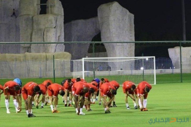 انطلاق معسكر المنتخب الوطني في الدوحة