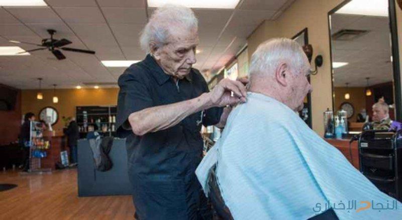 ما هو لغز هذا الحلاق البالغ من العمر 107 عاماً