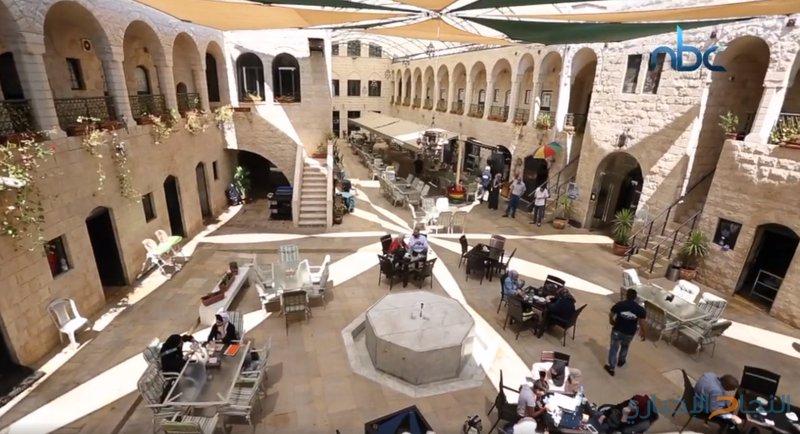 خان الوكالة يروي تاريخ مدينة نابلس