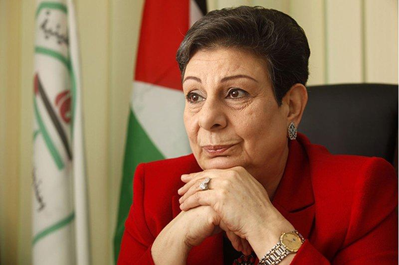 عشراوي تبحث مع السفير الأردني آخر التطورات السياسية