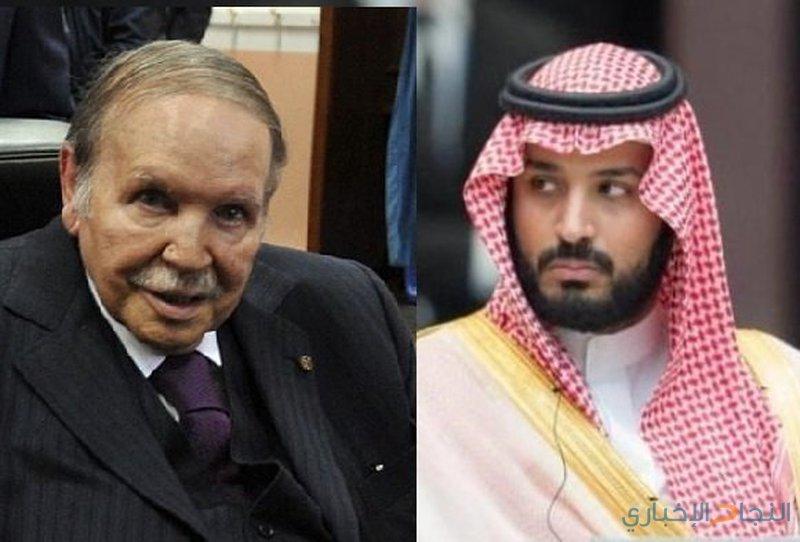 """بوتفليقة يمتنع عن لقاء بن سلمان بسبب """"الزكام"""""""