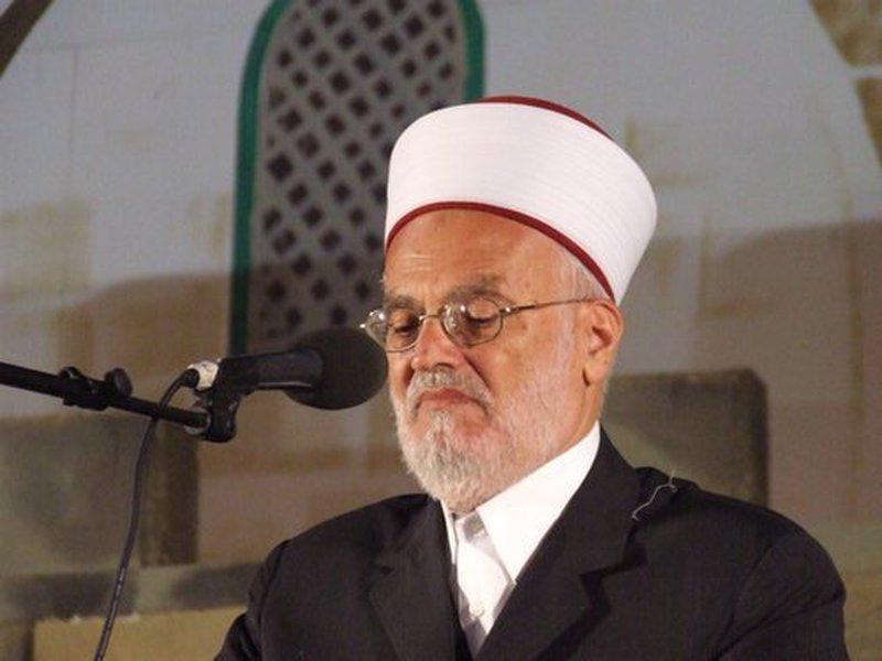 عكرمة صبري: عدم اللجوء للمحاكم الإسرائيلية قرار منذ عام 67