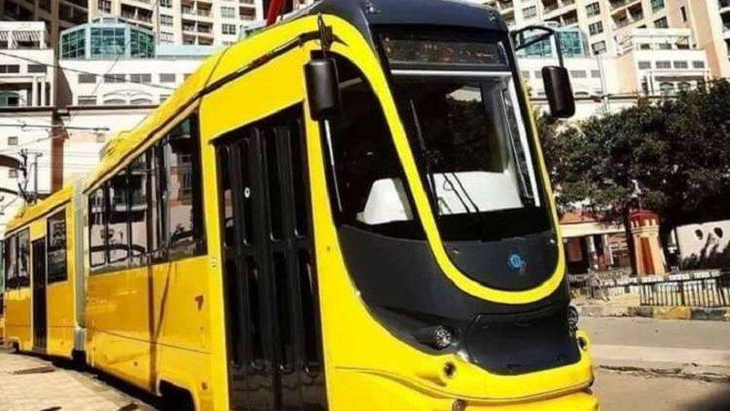 """""""ترام حديث"""" ينضم لقطاع النقل في شوارع مصر"""