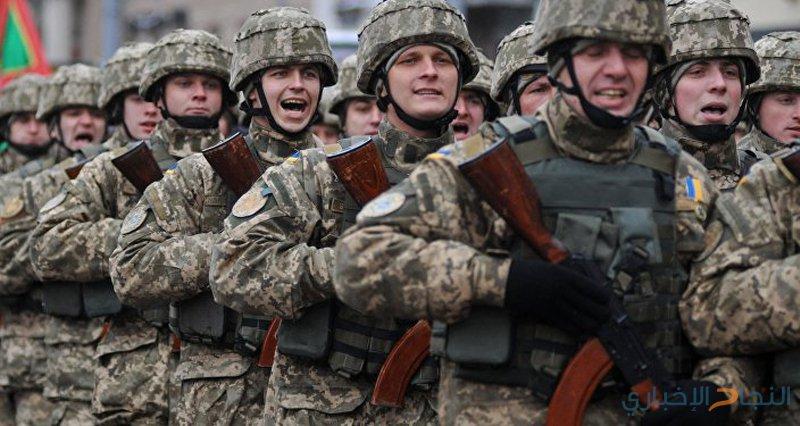 اعلان حالة الحرب في اوكرانيا
