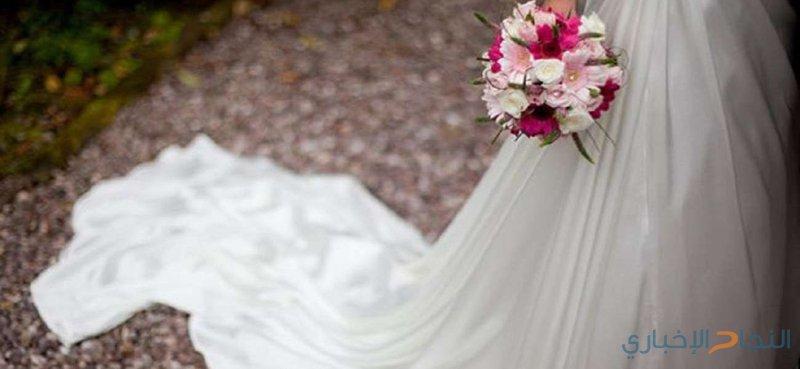 صنعت فستان زفافها بشعر والدتها!