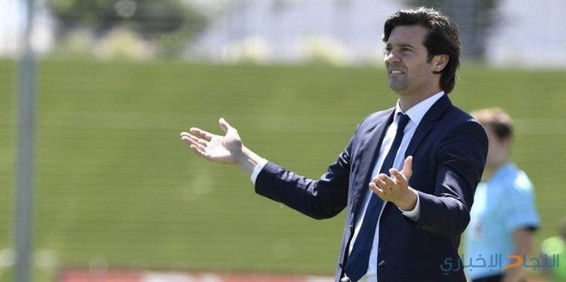 ريال مدريد يقيل مدربه ويعين الأرجنتيني سولاري