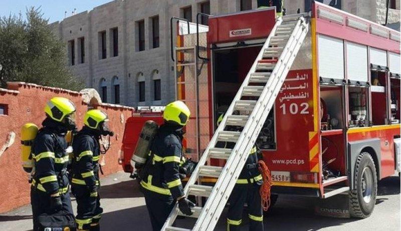 الدفاع المدني يتعامل مع 147 حادثا في اسبوع
