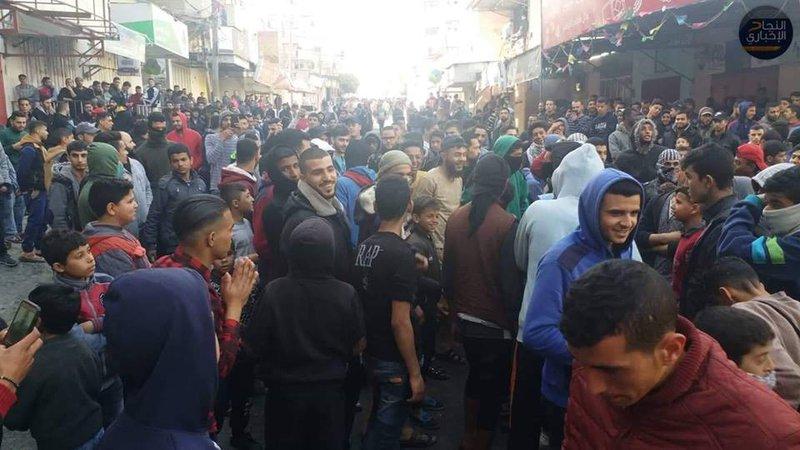 الحراك الشبابي يعلن الاضراب العام في قطاع غزة