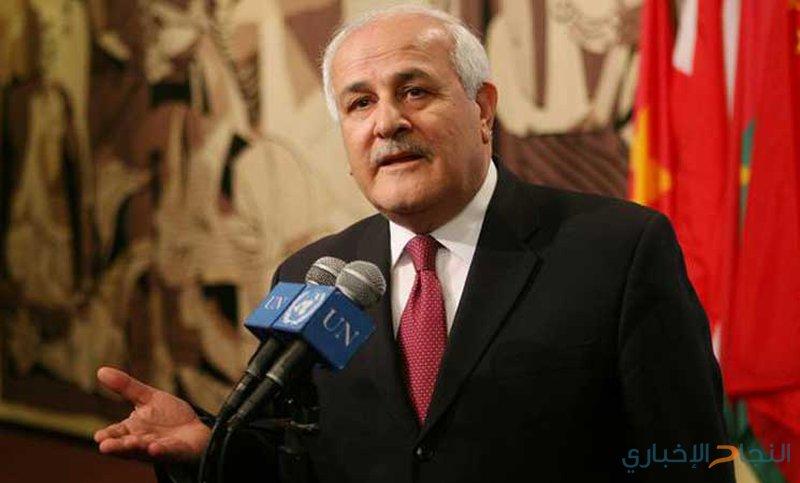 منصور يستعرض تداعيات القرار الاميركي بخصوص القدس