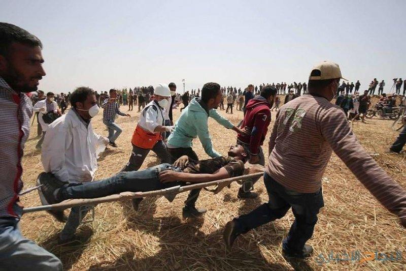 شهيد متأثرا بجراحه بغزة