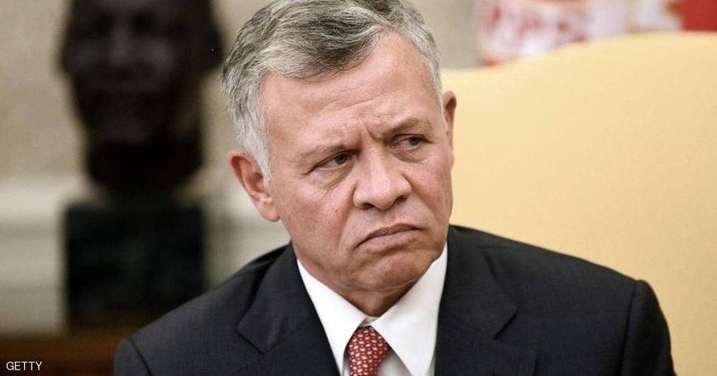 العاهل الأردني يبحث فرص إحلال السلام في المنطقة