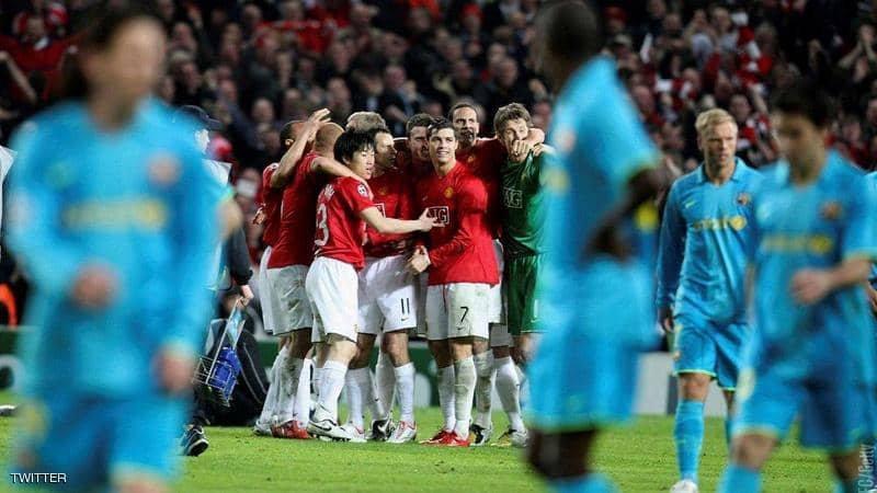 """بعد القرعة.. مانشستر يونايتد """"يستفز"""" برشلونة بصورة خاصة جدا"""