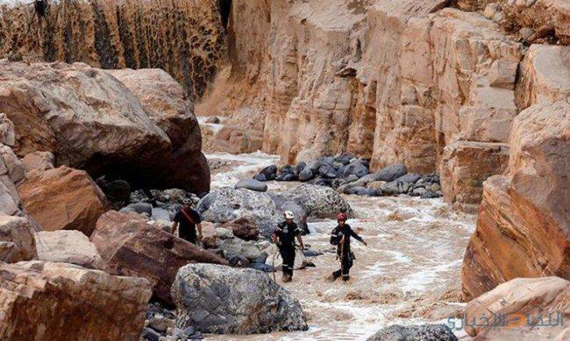 وقف عمليات البحث عن مفقودي البحر الميت