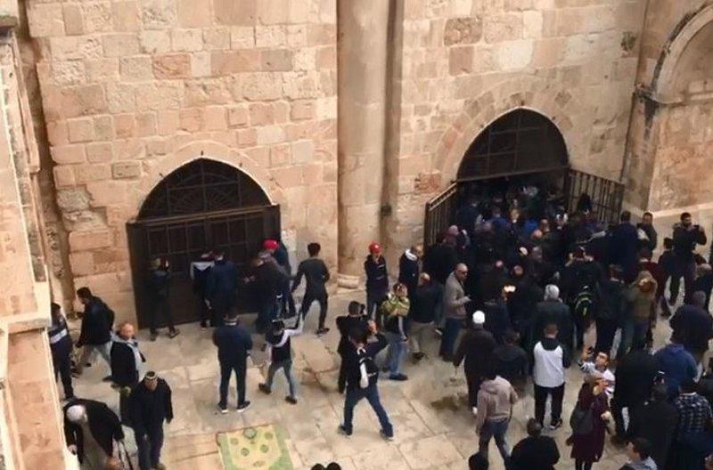 أردان: لن نسمح بإقامة الصلاة بالمسجد الأقصى