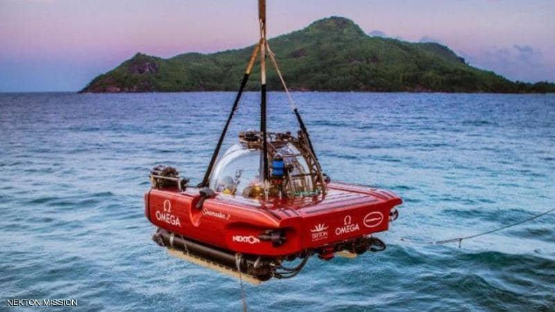 """استعادة الغواصة الدرون من """"المحيط الغامض"""""""