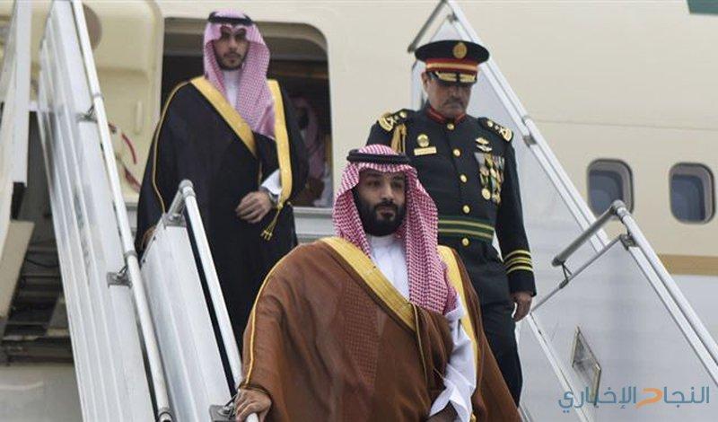 ولي العهد السعودي يصدر بيانا مشتركا من موريتانيا
