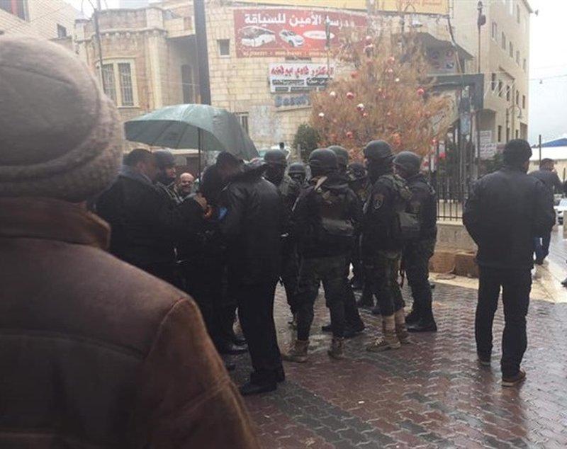 الشرطة تدفع بتعزيزات لبيت لحم