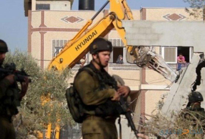 """الاحتلال يهدم غرفتين سكنيتين في """"بيرين"""" بيطا"""