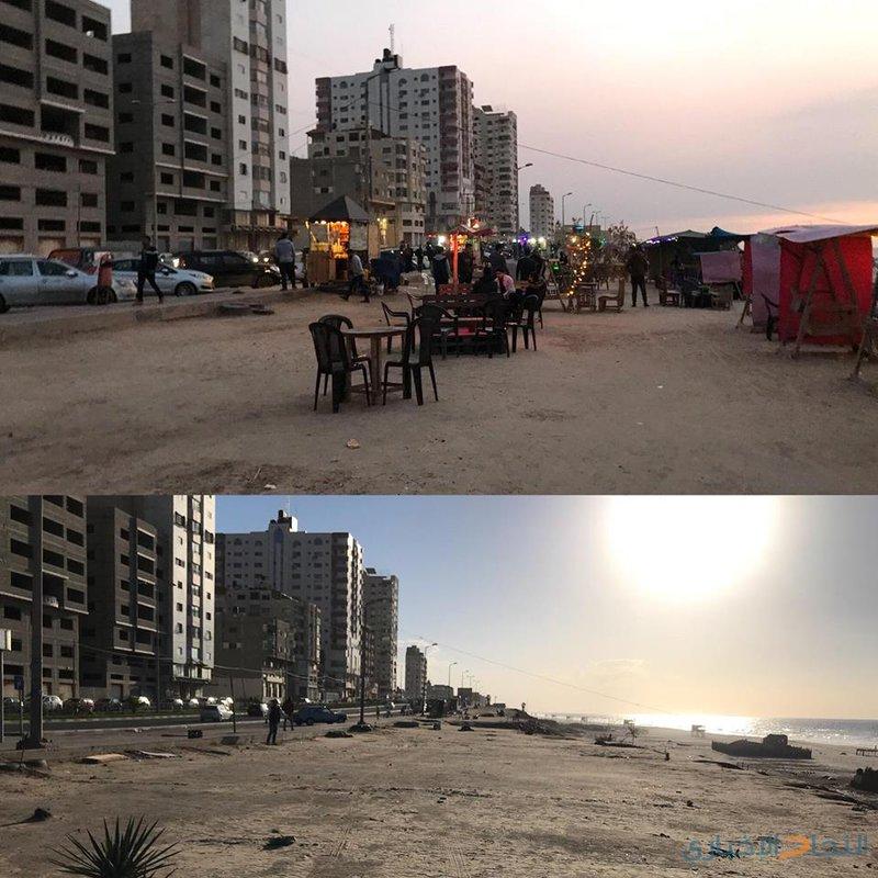 بلدية غزة تدمر مصدر رزق البسطاء