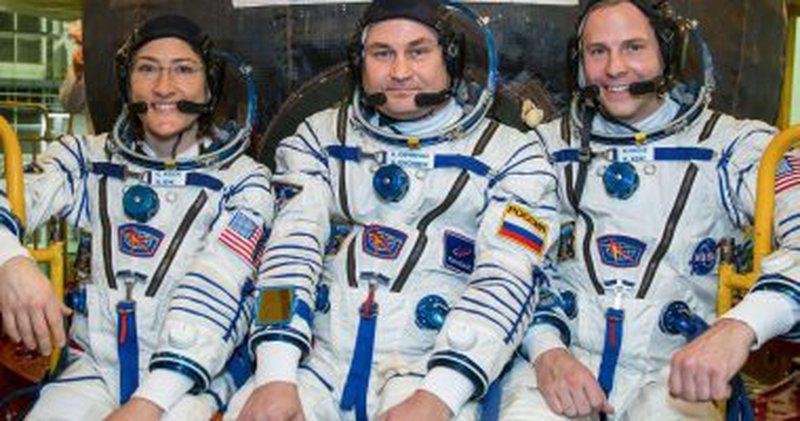 ناسا تعلن عن انطلاق 3 رواد فضاء للمحطة الدولية اليوم