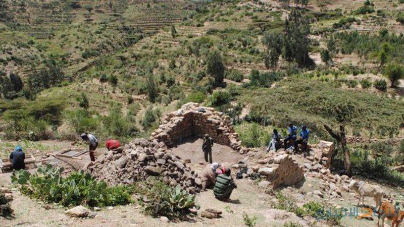 آثار مصرية وهندية في نفس المكان في أثيوبيا