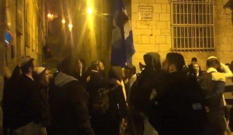 مسيرة استفزازية للمستوطنين بالبلدة القديمة في القدس