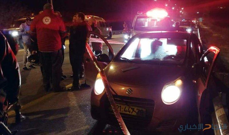 """الاحتلال يطلق النار على سيارة بالقرب من """"بيت ايل"""""""